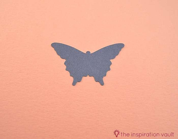 Pretty Purple Cricut Birthday Card Step 12
