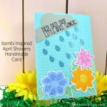 Bambi Inspired April Showers Handmade Card