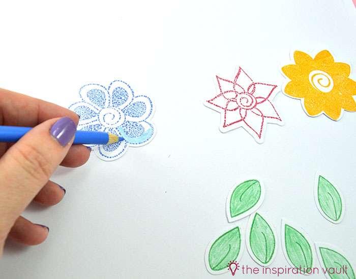Bambi Inspired April Showers Handmade Card Step 6b