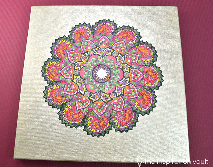 Transform Your Coloring Page into Home Decor Complete