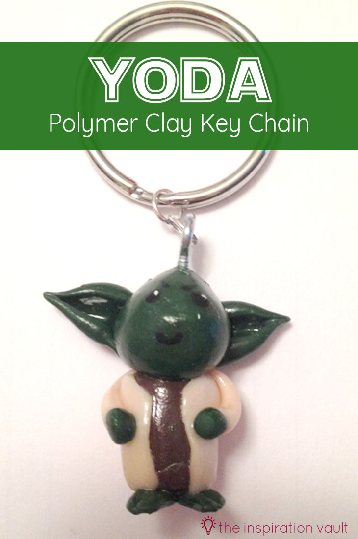 Yoda Polymer Clay Key Chain Star Wars Craft Tutorial