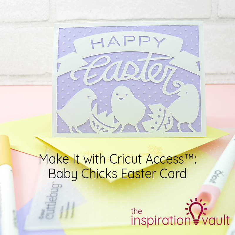 Baby Chicks Easter Card Feature