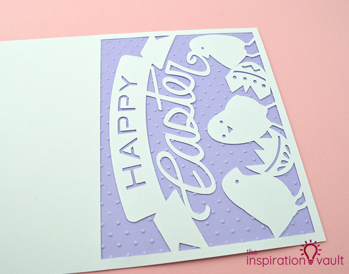 Baby Chicks Easter Card Step 6