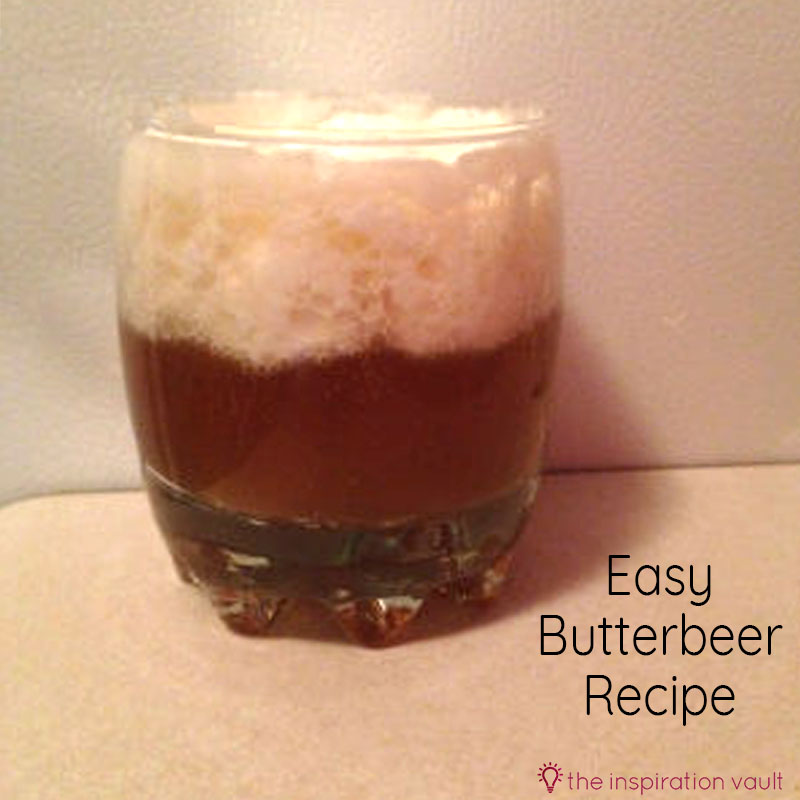 Easy Butterbeer Recipe Feature