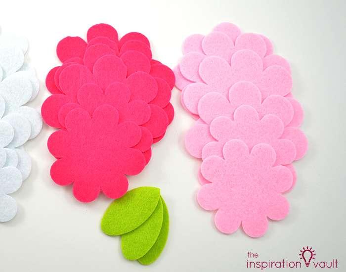 Sparkling Floral Springtime Banner Materials2