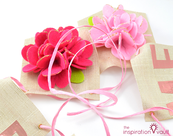 Sparkling Floral Springtime Banner Step 4