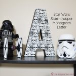 Star Wars Stormtrooper Monogram Letter