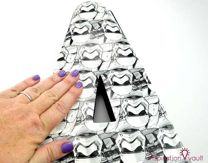 Star Wars Stormtrooper Mongram Letter Tip