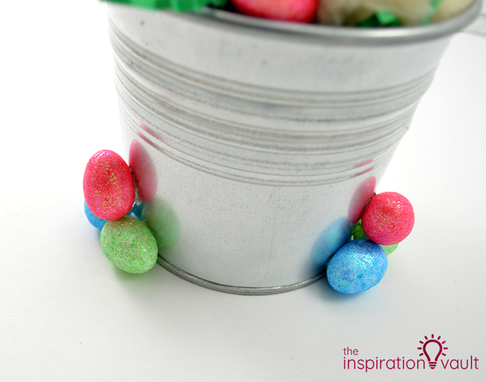 Thrifty Easter Bunny Centerpiece Step 5b