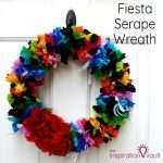 Fiesta Serape Wreath