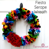 Fiesta Serape Wreath Feature