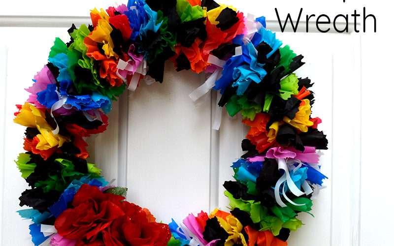 Fiesta Serape Wreath Feature