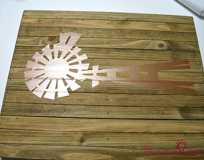 Farmhouse Style Windmill Decor Step 11b