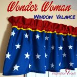 Wonder Woman Window Valance