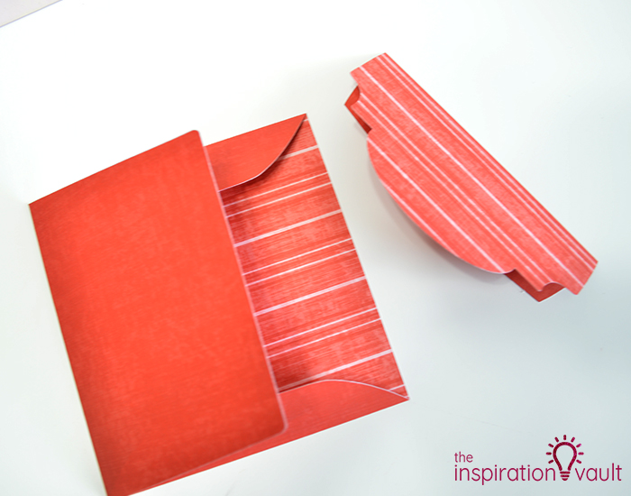 Lovely Red Rose Cricut Birthday Card Step 19a