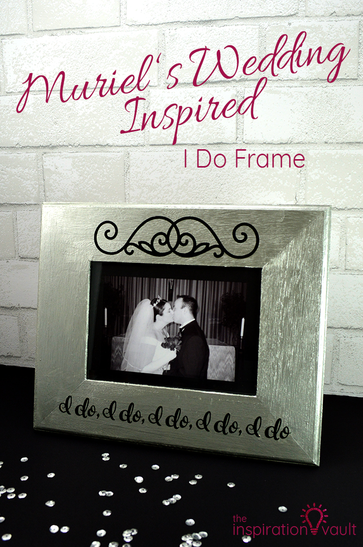 Muriel's Wedding Inspired I Do Frame DIY Craft Tutorial