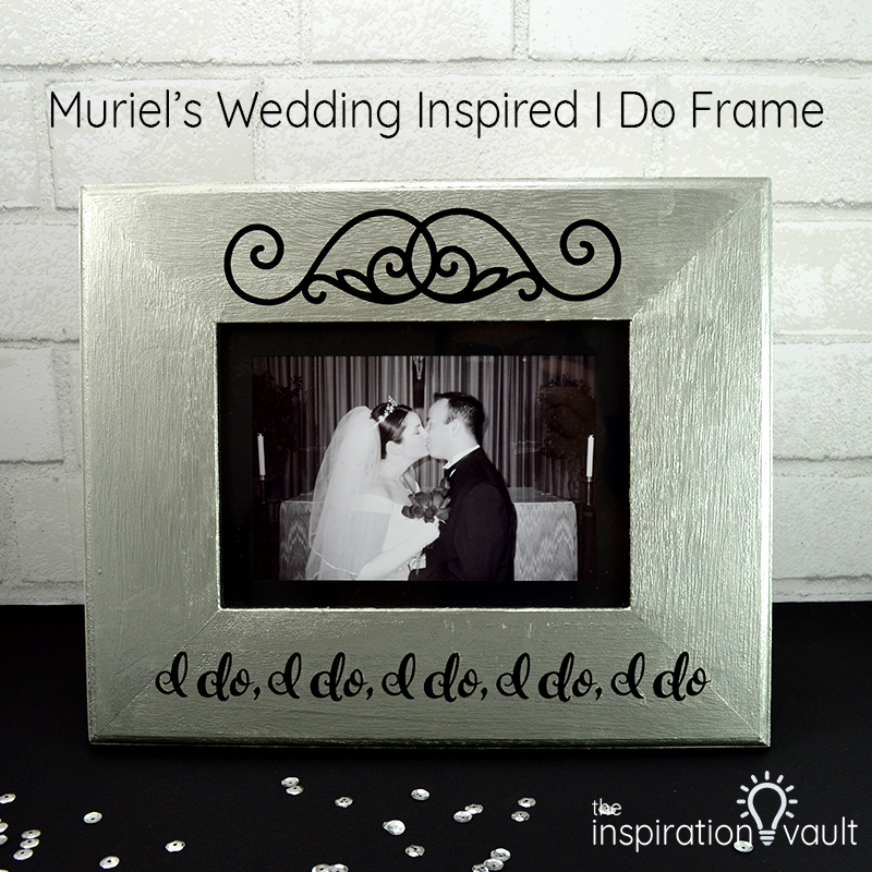 Muriel's Wedding Inspired I Do Frame Feature