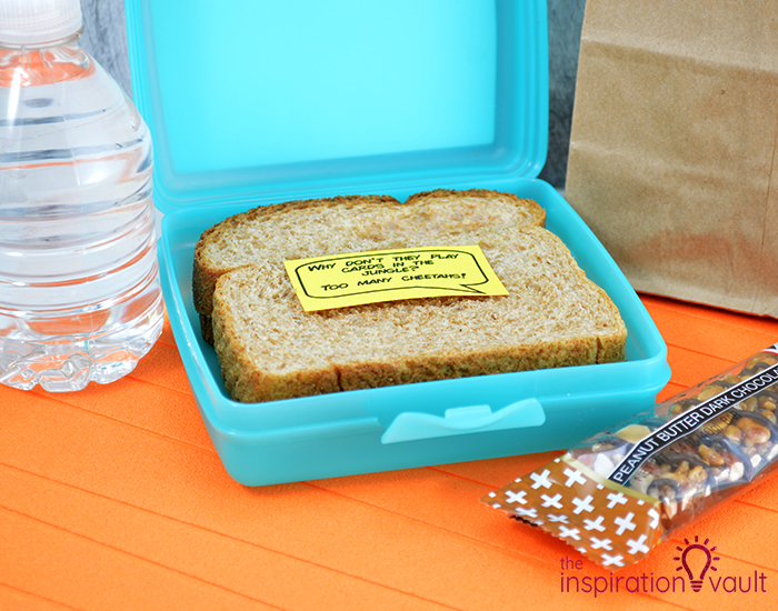 Free Printable Lunchbox Jokes Complete