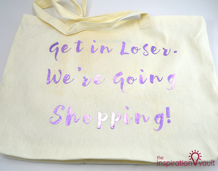 Mean Girls Inspired Shopping Tote Complete