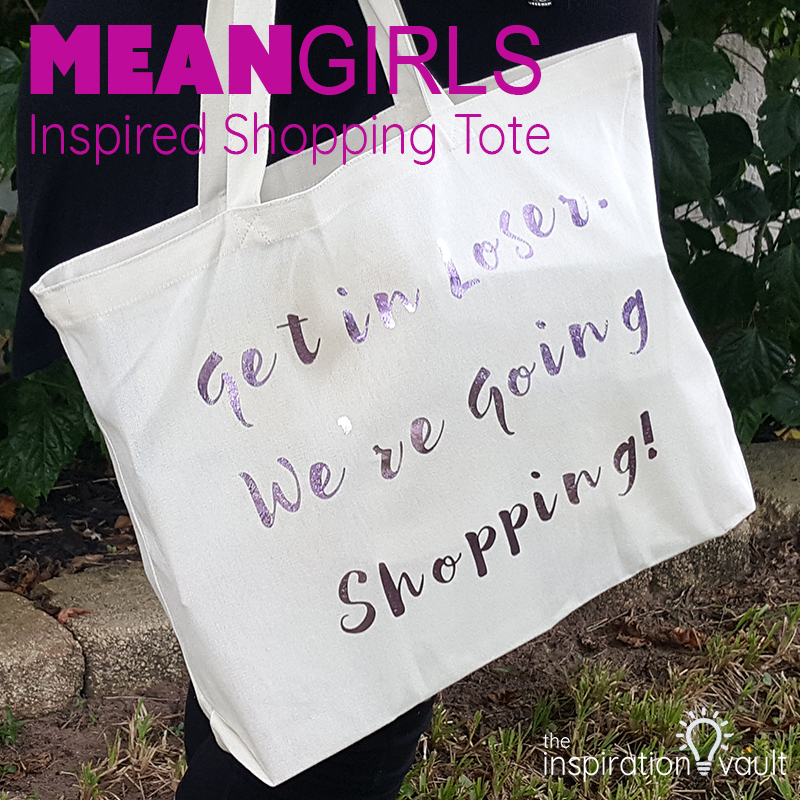 Mean Girls Inspired Shopping Tote Feature