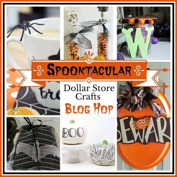 Spooktacular Dollar Store Craft Blog Hop