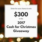 Crafty Gift Guide & Cash for Christmas Giveaway