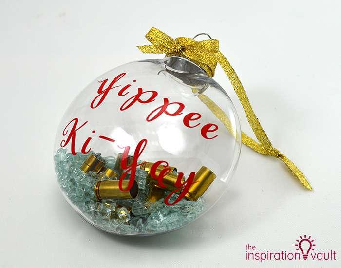 Die Hard Christmas Ornament Complete