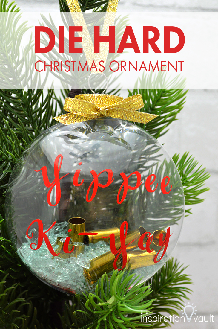Die Hard Christmas Ornament DIY Craft Tutorial