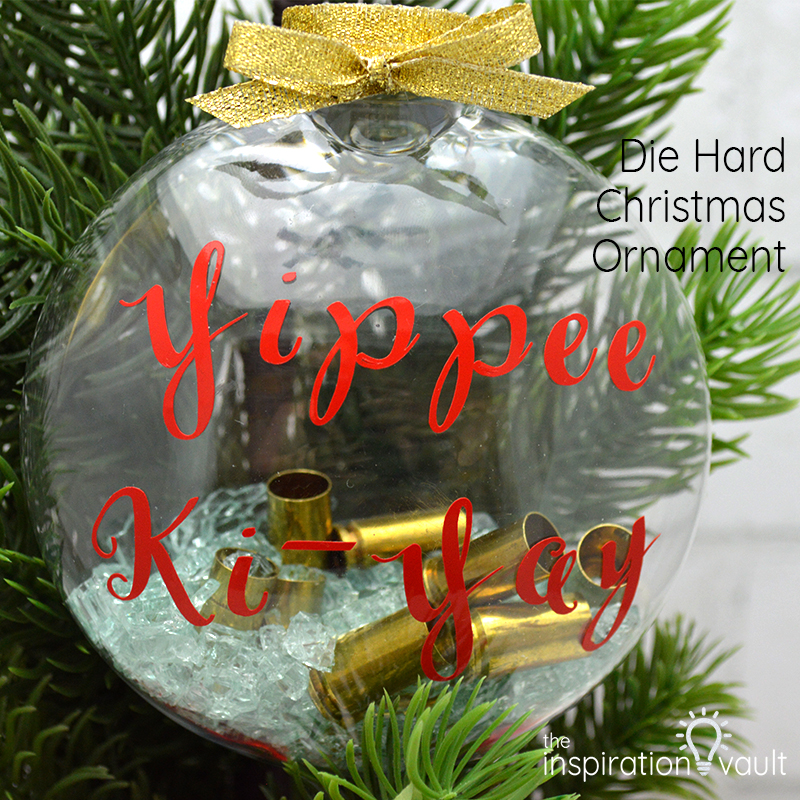 Die Hard Christmas Ornament Feature