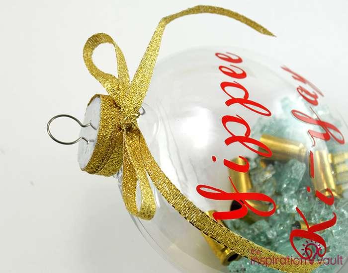Die Hard Christmas Ornament Step 9b
