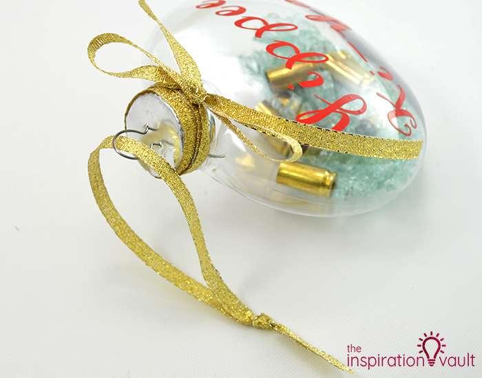 Die Hard Christmas Ornament Step 9c