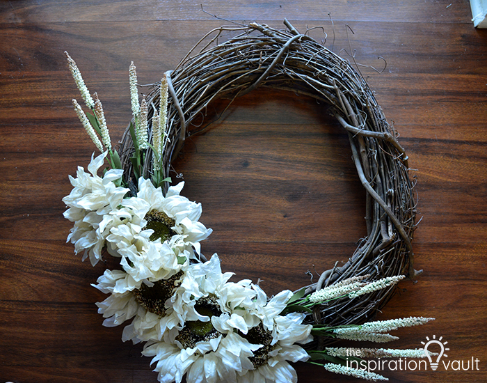 Easy Neutral Fall Wreath Complete