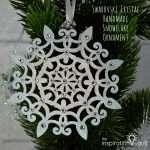 Swarovski Crystal Handmade Snowflake Ornament