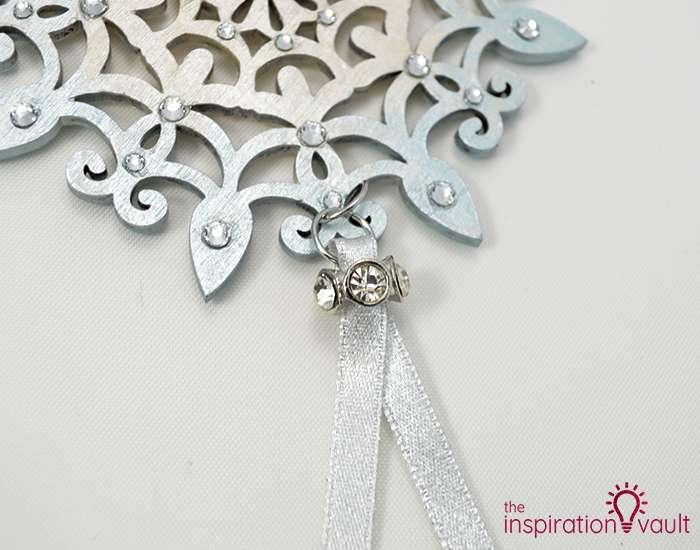 Swarovski Crystal Handmade Snowflake Ornament Step 6