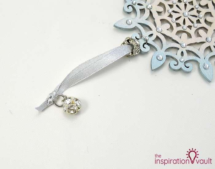 Swarovski Crystal Handmade Snowflake Ornament Step 7