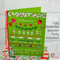 Ugly Christmas Sweater Party Invitation Feature