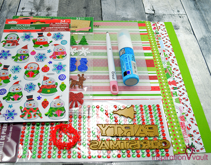 Ugly Christmas Sweater Party Invitation Materials