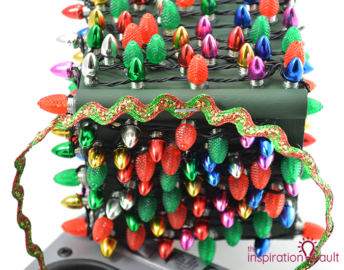 Whimsically Lighted Birdhouse Ornament Step 10a