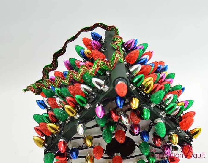 Whimsically Lighted Birdhouse Ornament Step 10b