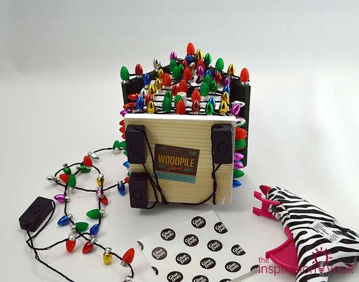 Whimsically Lighted Birdhouse Ornament Step 4b