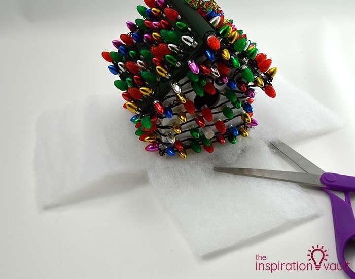 Whimsically Lighted Birdhouse Ornament Step 7