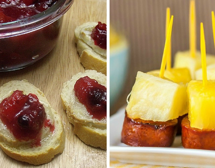 Cranberry Brie & Sausage Pineapple