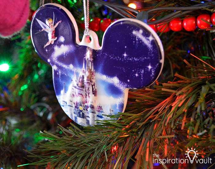 Disney Castle Ornament