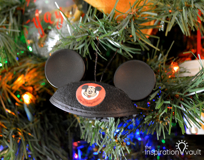 Mickey Ears Hat Ornament