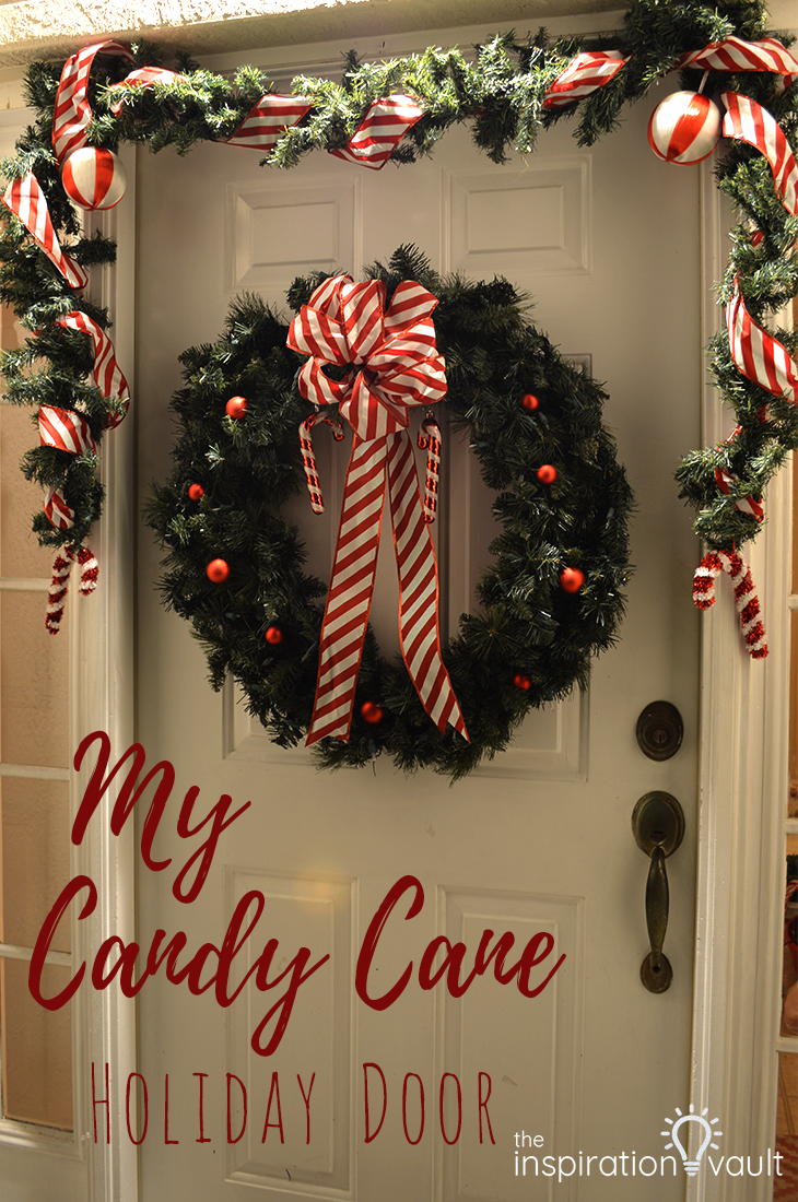 My Candy Cane Holiday Door Chrsitmas Feature Article