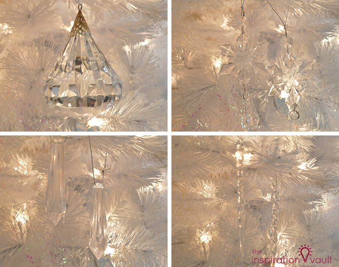 My Winter Wonderland Christmas Tree 4 Clear Ornaments