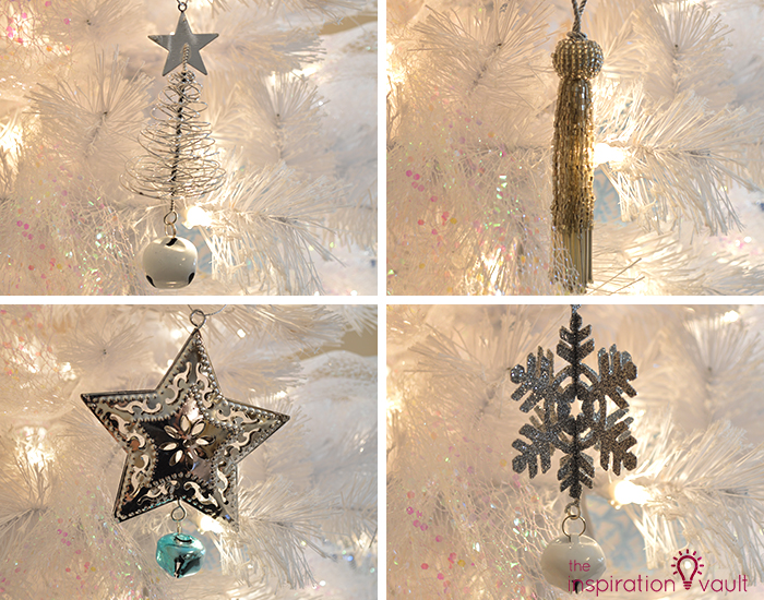 My Winter Wonderland Christmas Tree 4 More Silver Ornaments