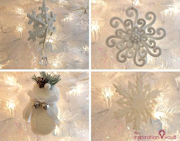 My Winter Wonderland Christmas Tree 4 White Ornaments 1