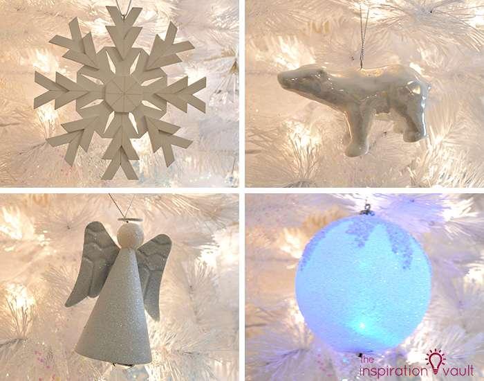 My Winter Wonderland Christmas Tree 4 White Ornaments 2