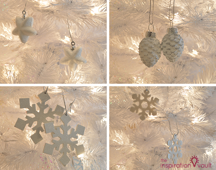 My Winter Wonderland Christmas Tree 4 White Ornaments 3